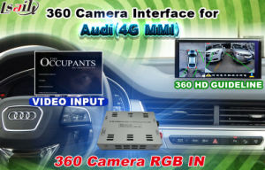 Reversing System for Audi to External Rear Camera Front Camera 360 Degree Panorama Cameras with Backup Parking Assistant System pictures & photos