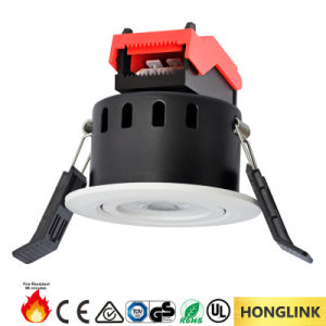 6W Aluminum Adjustable LED Downlight with 90mins Fire Resistance pictures & photos