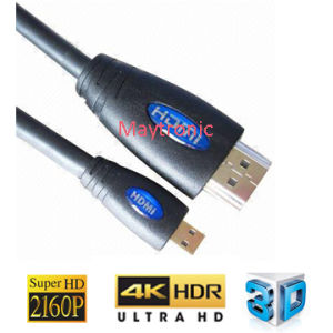 Used for Cell Phone, MacBook Micro HDMI Cable pictures & photos
