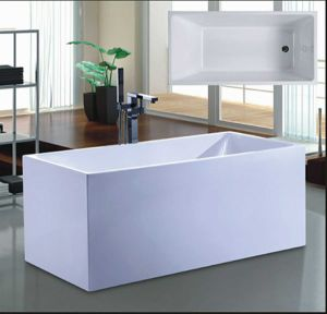 1100mm Rectangle Modern Bathtub (AT-6710) pictures & photos