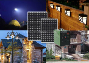 Snat 12V/24V 500W 1000W 1500W Solar Power System with Solar Panel for How Use pictures & photos