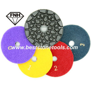 Cr-28 Diamond Marble Floor Polishing Pad on Sale (100X6.0mm)