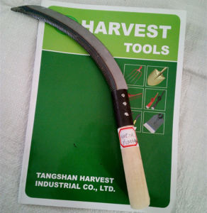 Hand Sickle Good Quality Hand Tool Steel Sickle pictures & photos