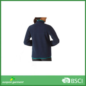 fashion Long-Sleeve Women Activewear Custom Fleece Jacket pictures & photos