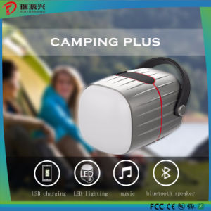 WaterProof Bluetooth Speaker with Power Bank and Camping Light pictures & photos