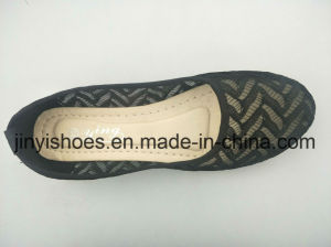 New Lady Shoes /Flat Fabric Shoes / Hot Sales Shoes/Fashion Sheos pictures & photos