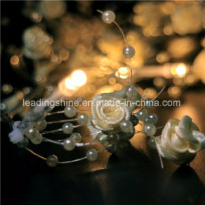 LED Starry Moon Lights 20 Micro LEDs on Extra Silver Wire 3.5 FT for DIY Decorations Centerpiece