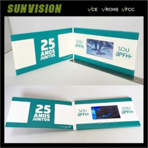 3 LCD Displays Music Card Business Brochure pictures & photos