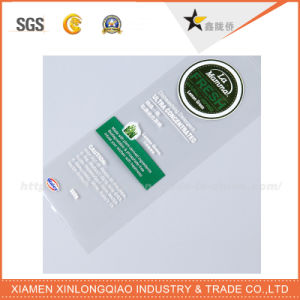 Woven Custom Fabric Tag Adhesive Garment Label Printing Logo Sticker pictures & photos