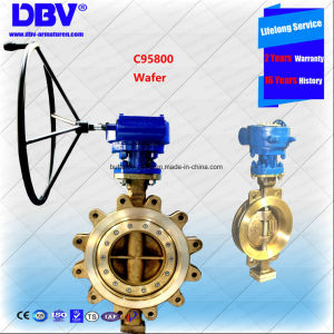 API Wafer Butterfly Valve Double Eccentric Metal Seat Butterfly Valves pictures & photos