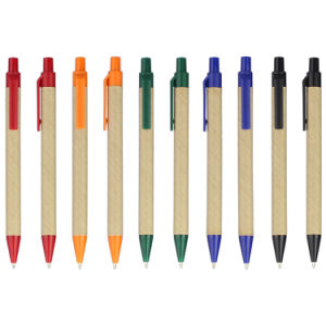 Cheap Stationery Recycle Plastic Ball Point Pen for Promotional pictures & photos