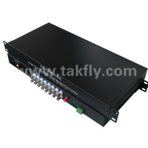 Manufacturer Digital Optical Fiber 16 Channel Fiber Video Converter pictures & photos