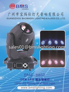 150W LED 3in1 Spot Wash Beam Moving Head Wedding Stage Light BMS-8850