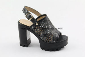 Block Heel Sandal Lady High Heel Shoes for Fashion pictures & photos