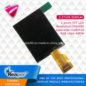TFT LCD Screen 2.2inch 240*320 Resolution TFT LCD Screen for Portable Device pictures & photos