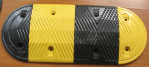 Traffic Safety Rubber Speed Hump (S-1102) pictures & photos