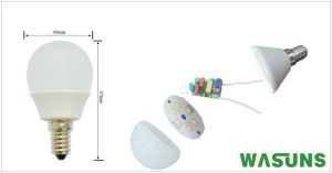 Ce RoHS Approval 3W E14 6500k LED Bulb G45 pictures & photos