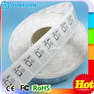 RFID Roll NTAG213 Blank NFC Label Sticker pictures & photos