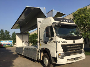 Sinotruk HOWO A7 6X4 Van Cargo Truck for Sale pictures & photos