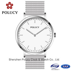 Classic Style Stainless Steel Mesh Fashion Watch Custom OEM Watches pictures & photos