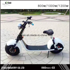 2017 Popular New Design Harley Style Electric Scooter with Big Wheels Fashion City Scooter Citycoco pictures & photos