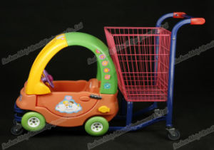Children Baby Supermarket Retail Store Convenient Shopping Cart pictures & photos