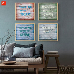 Modern Text Wood Wall Decor pictures & photos