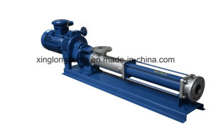 Xinglong Cavity Progressive Single Screw Pumps for Sewage Sludge pictures & photos