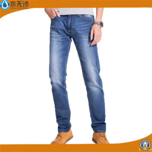 2017 Factory Wholesale Men Fashion Cotton Stretch Denim Jean Pants pictures & photos