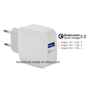 2017 New Quick Charger QC3.0 Travel Charger pictures & photos