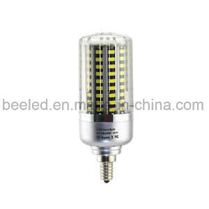 LED Corn Light E12 20W Cool White Silver Color Body LED Bulb Lamp