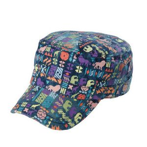 Cotton Printed Flat Top Hat pictures & photos