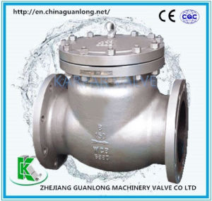API Swing Check Valve (H44) pictures & photos