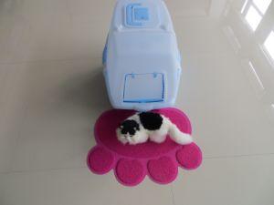 Large Pet Supply Cat Litter Box Mat pictures & photos