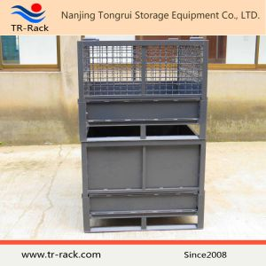 Stackable Steel Wire Mesh Storage Cage for Warehouse pictures & photos