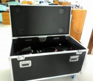 Audio Speaker Cable Case with Heavy Duty Casters pictures & photos