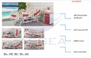 Five-Functions Electric Hospital Bed for Paralyzed Patients pictures & photos