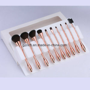 10PCS Makeup Brushes Set Powder Foundation Eyeshadow Eyeliner Lip Brush Tool pictures & photos