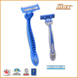 Stainless Steel Triple Blades Disposable Razor pictures & photos