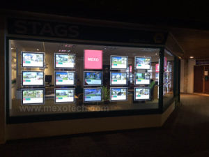 Advertising LED Acrylic Window Display with Light Panel pictures & photos