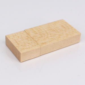 New Customized Eco Friendly Wood Material USB Flash Drive pictures & photos