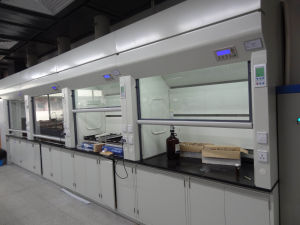 Steel Lab Fume Hood with Gear Transmission and SGS Certification (JH-FC015) pictures & photos