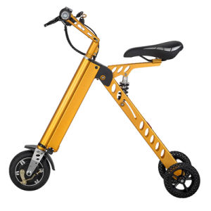 Portable 250W Three Wheels Electric Folding Bike pictures & photos