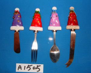 Christmas Decoration Spreader with Santa′s Hat Handle pictures & photos
