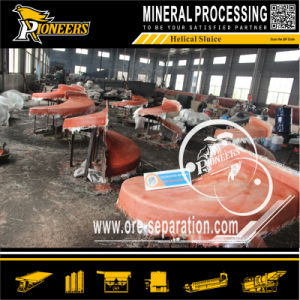 Placer Gold Ore Benefication Separation Spiral for Gold Concentration 5ll pictures & photos