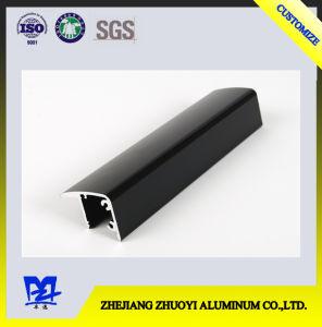 Aluminum Alloy Black Electrophoresis Profiles for Fridge Handle pictures & photos