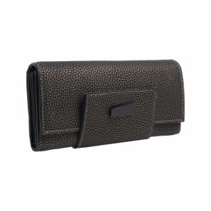 Elegant Sophisticated Double Flaps Clutch Wallet (MBNO041127) pictures & photos