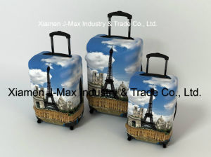 Spandex Travel Luggage Cover Fits 18-32 Inch Luggage, Washable, Comes in Various Printings, High Elastic, Trolley Cover, France pictures & photos