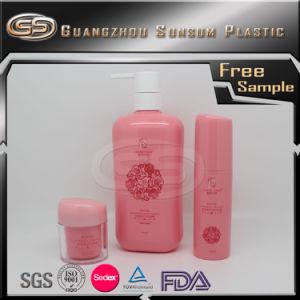 Customized Size Plastic Pet Square Shampoo Bottle pictures & photos