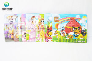 Custom Multi-Choice Paper Puzzle Cards Children Printing Jigsaw pictures & photos